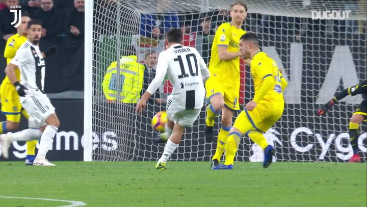 Dybala stunner helps Juventus beat Frosinone