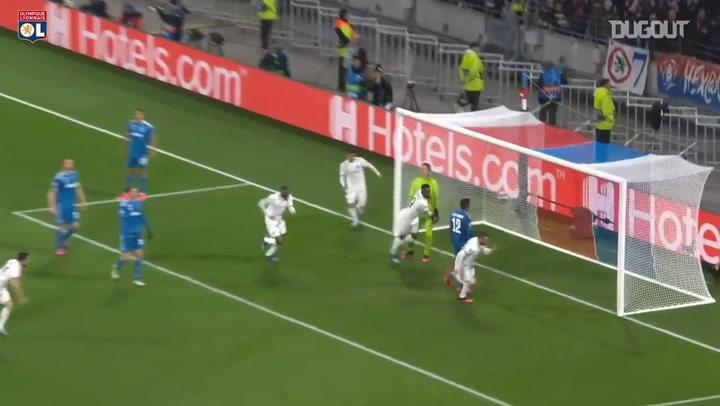 Lucas Tousart marca el gol de la victoria ante la Juventus