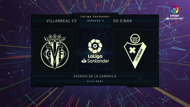 LaLiga Santander (Jornada 2): Villarreal 2-1 Eibar