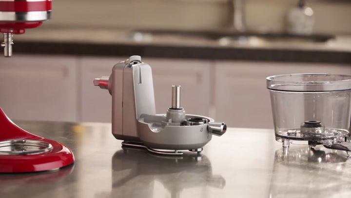 Preview image of  Kitchenaid Set Up The Juicer & Sauce Attachment 5 video