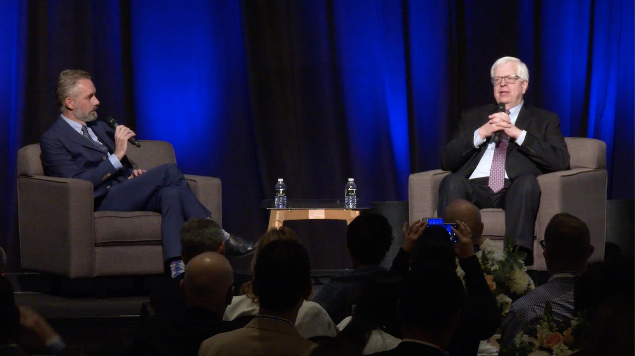 Interview: Dr. Jordan Peterson and Dennis Prager at the 2019 PragerU summit