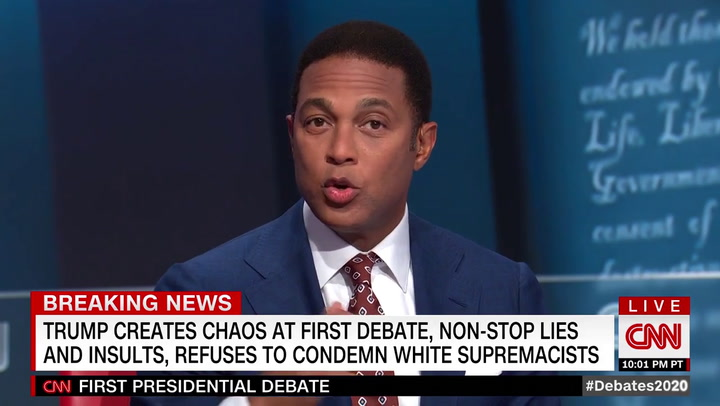 CNN's Lemon: Trump Looked 'Hopped Up' at Debate -Like a Kid Prescribed 'Too Much Adderall'