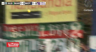 Marathón 2-2 Motagua (Liga Nacional)