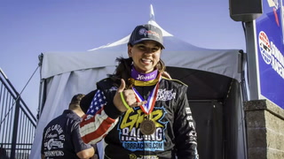 Aspiring sports car racer Michele Abbate
