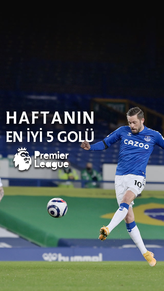 Premier Lig'de haftanın en iyi 5 golü