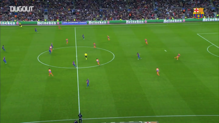 El Barça derrota al City por 4-0 con tres goles de Messi