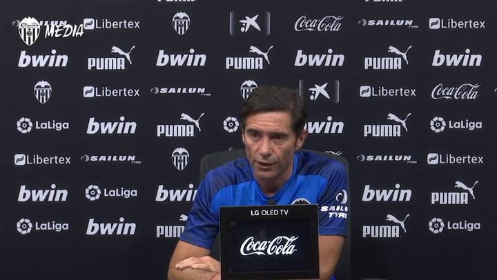 """Marcelino: """"La propiedad no ha dado el visto bueno a la cesión de Rafinha al Valencia"""""""