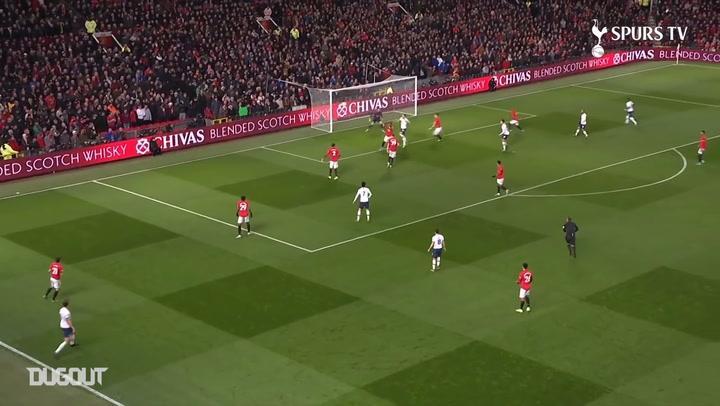 Dele Alli's skilful finish vs Manchester United