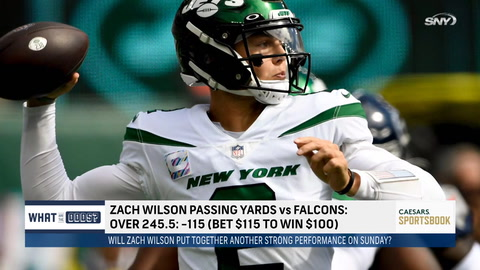Can Jets' Zach Wilson pick apart the Falcons' defense on Sunday?