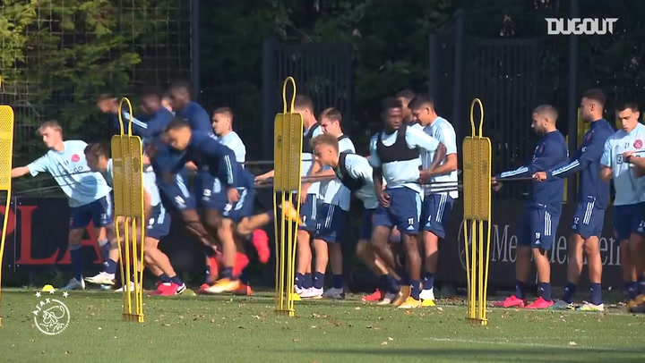 Martínez stars in training ahead of RKC clash