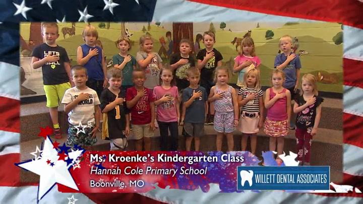 Hannah Cole - Ms. Kroenke - Kindergarten