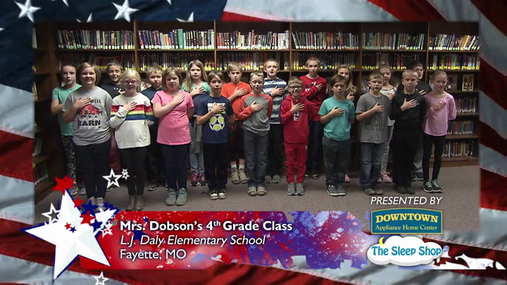 L.J. Daly Elementary School - Mrs. Dobson - 4th Grade