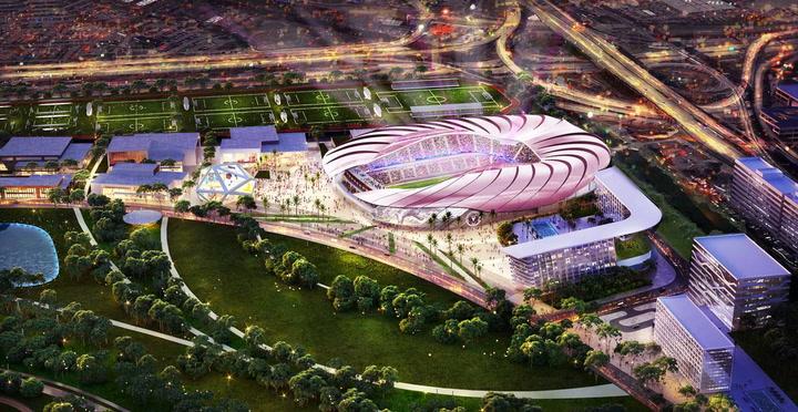 Así será el espectacular estadio del Inter Miami de Beckham