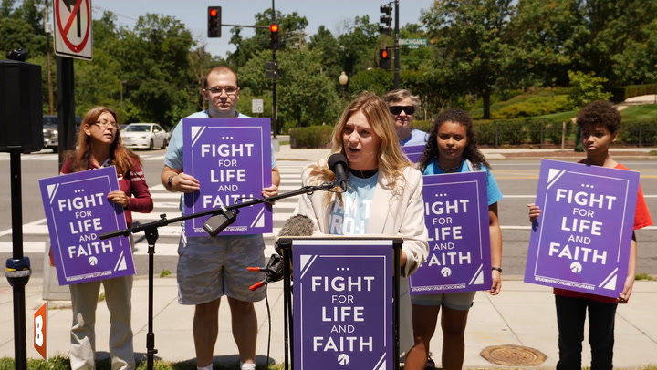 Students for Life, Pro-Life Activists Demand Bishops Hold Pro-Abortion Politicians Accountable in D.C.