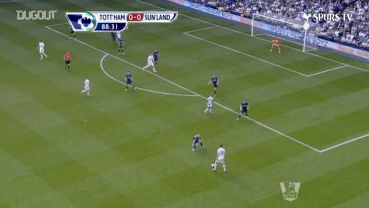 Último gol de Gareth Bale pelo Tottenham