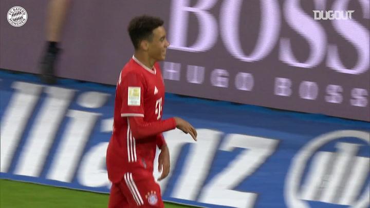 Los primeros pasos de Jamal Musiala en el primer equipo del Bayern