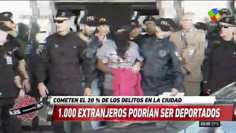 El gobierno quiere deportar a unos 1.000 extranjeros que delinquieron