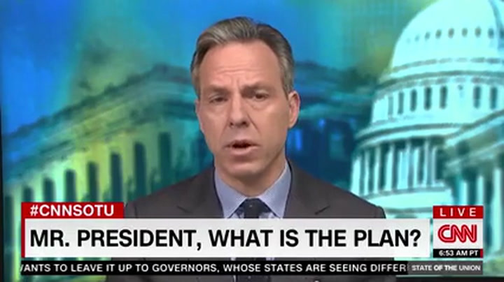CNN's Tapper to Trump: 'This Is Not About Winning a News Cycle on Fox' - Do You Have a Plan?