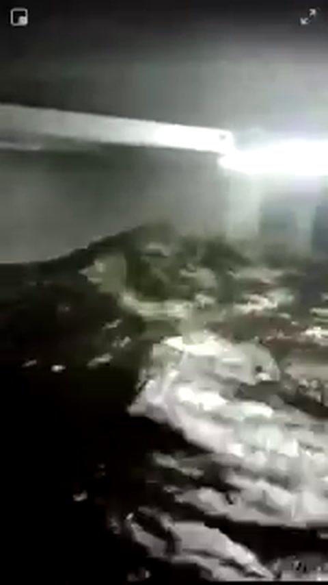 Los videos más impactantes de los destrozos del huracán Florence