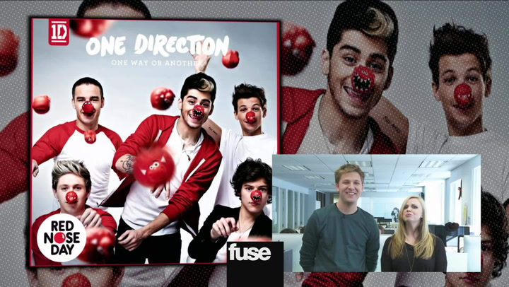 One Direction Reveals 'One Way Or Another' Artwork For Red Nose Day