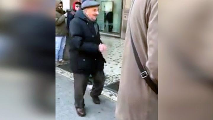 Gamlefar klarer ikke holde dansefoten tilbake