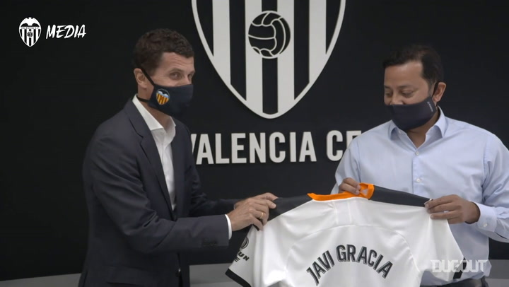 Javi Gracia becomes Valencia's new manager