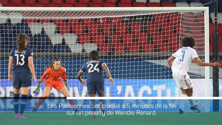 1/4 de finale - L'OL remporte la manche aller face au PSG