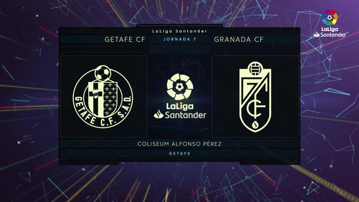 LaLiga Santander (J7): Getafe 0-1 Granada