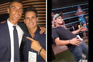 El 'ridículo' baile de Edu Aguirre, amigo de Cristiano Ronaldo, que se hizo viral en redes sociales