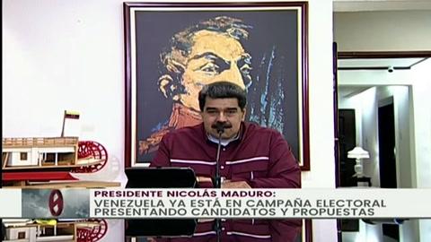 Maduro crea comando