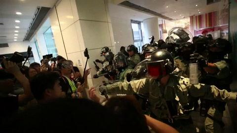 Nuevos enfrentamientos en la decimonovena semana de protestas en Hong Kong