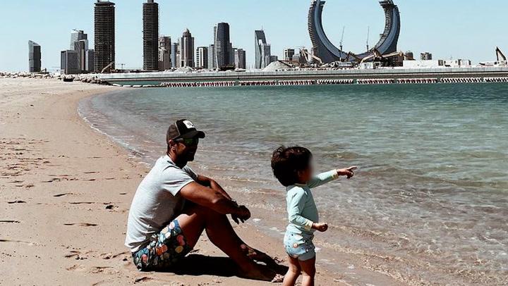 \'Cuánto os quiero\', Ana Boyer se enamora viendo a sus chicos en las playas de Doha
