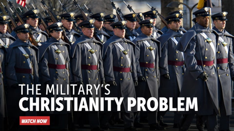The Military's Christianity Problem