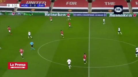 Neymar abre el marcador en el Old Trafford