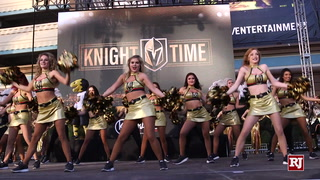 Golden Knights Fans Gather At T-mobile To Watch Game 3 Of The Playoffs – Video