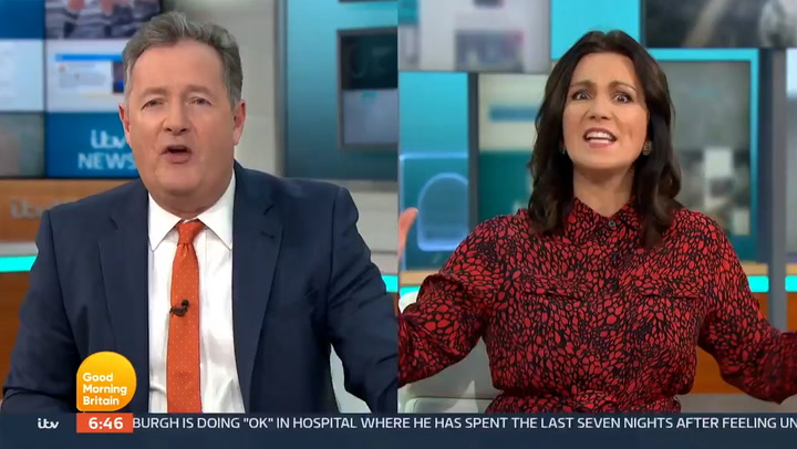 Piers and Susanna argue on GMB