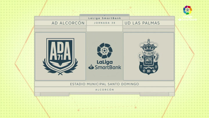 LaLiga SmartBank (J38): Resumen del Alcorcón 0-0 Las Palmas