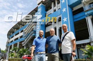 Fabián Coito y cuerpo técnico de la Selección Nacional visitaron el estadio Olímpico