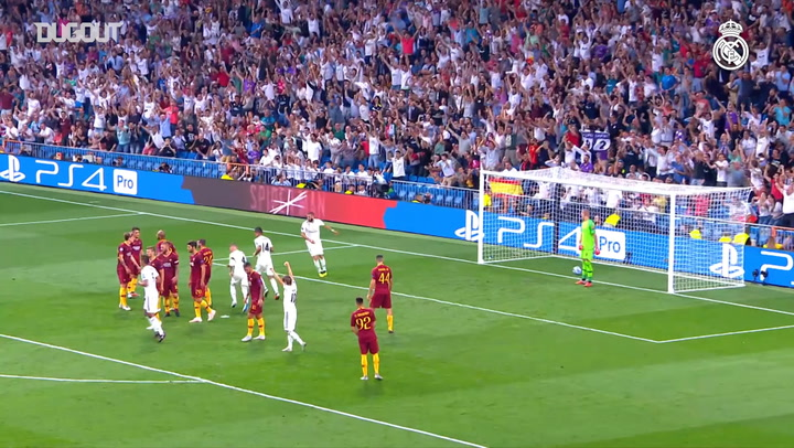 Real Madrid's Best Champions League First Round Goals 2018-19