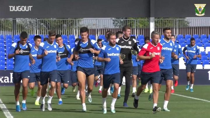 Club Deportivo Leganés return to training