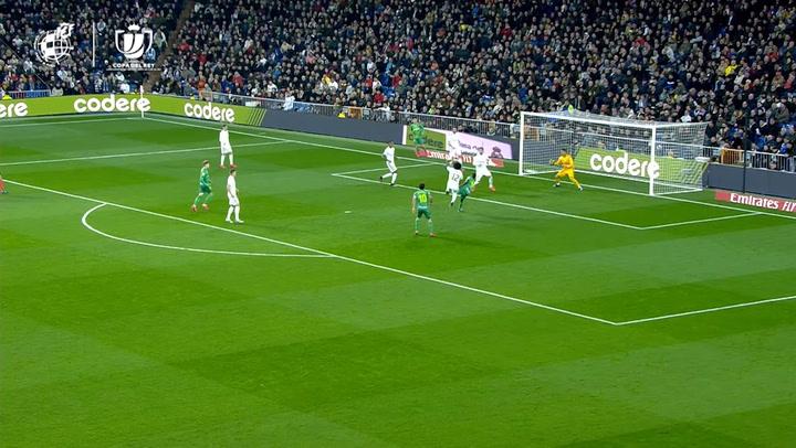 Copa del Rey: Real Madrid-Real Sociedad. Gol de Isak (0-2)