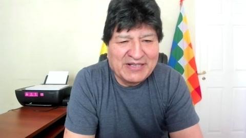 Evo Morales descarta participar del nuevo gobierno de Bolivia