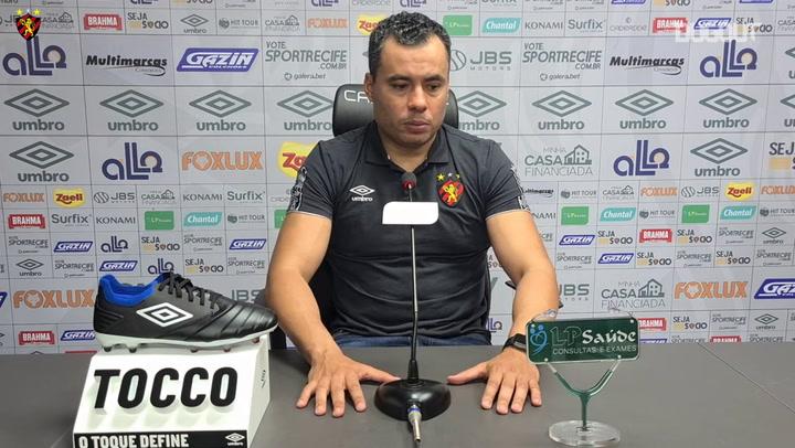 Jair Ventura analisa estreia do Sport na Copa do Nordeste 2021