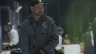 Golden Knights new head coach Peter DeBoer ready for first home game