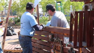 Work Begins at Las Vegas Community Healing Garden