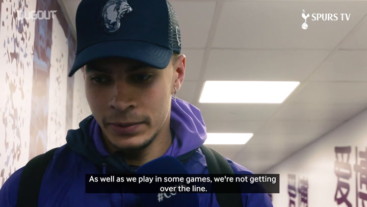 Dele Alli: I would have traded my 50th goal for three points