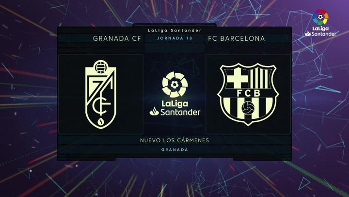 LaLiga Santander (Jornada 18): Granada 0-4 Barcelona