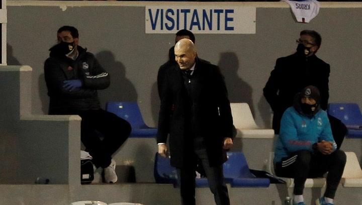 """Zidane: """"No es una vergüenza. Son cosas que pasan"""""""