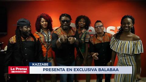 Kazzabe presenta en exclusiva Balabaa