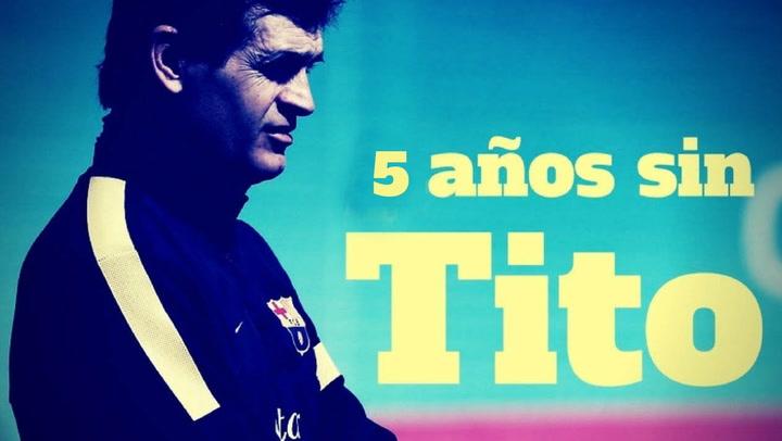 Cinco años sin Tito Vilanova